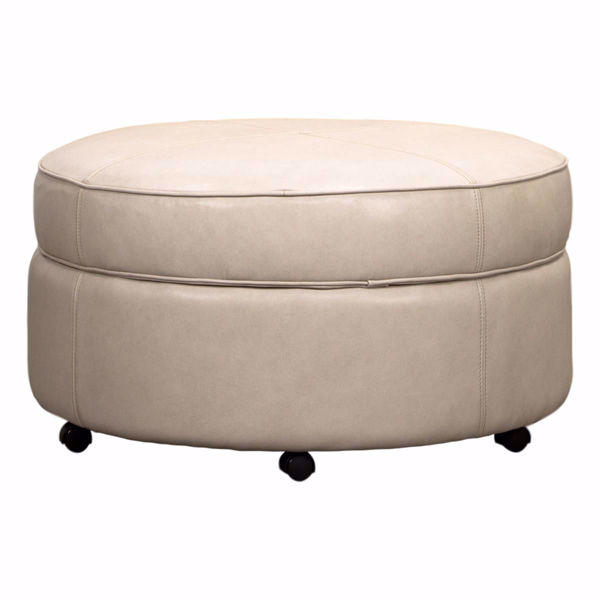 Picture of Auden Round Storage Ottoman