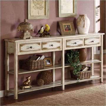 Picture of 4 Drawer Console