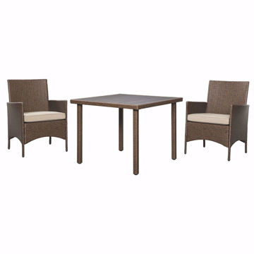 Picture of Louis 3-Piece Dining Table Set