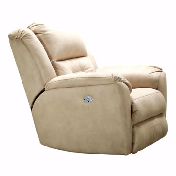 Picture of Graham Khaki Power Headrest Recliner