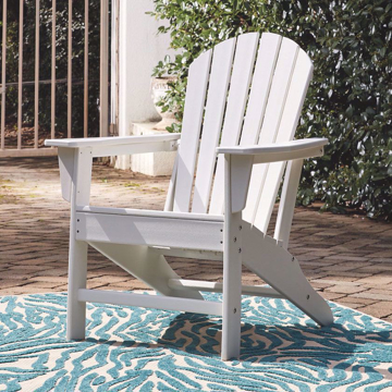 Picture of White Outdoor Adirondack Chair