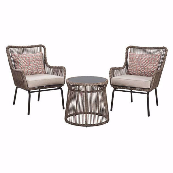 Picture of Pura Vida 3-Piece Patio Seating Set