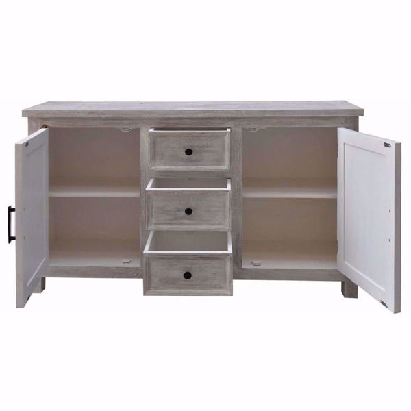 Picture of Flora Two Door Three Drawer Credenza