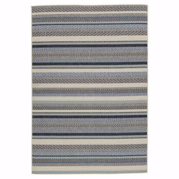 Picture of Troost Blue and Cream Large Rug