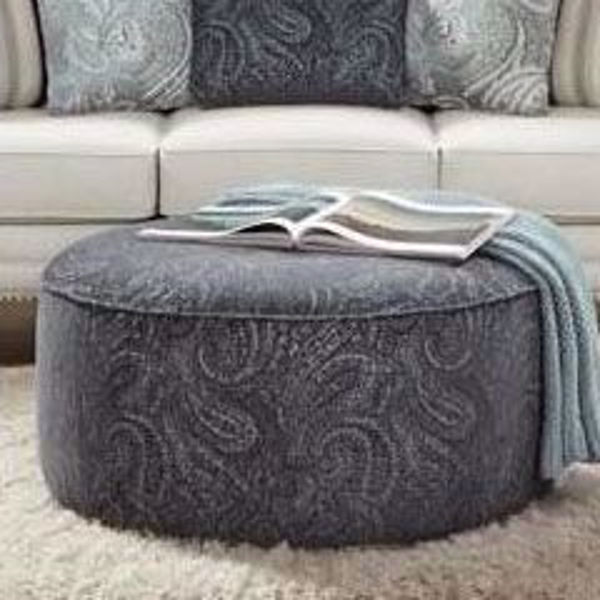 Picture of Cecile Black Cocktail Ottoman