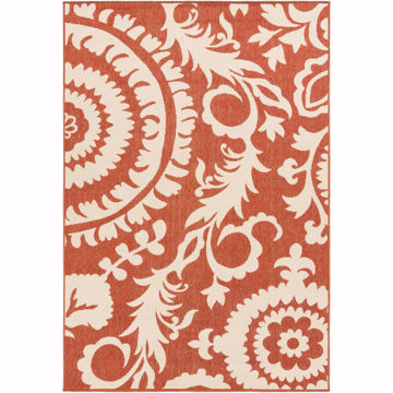 Picture of Alfresco Rust 6X9 Outdoor Area Rug