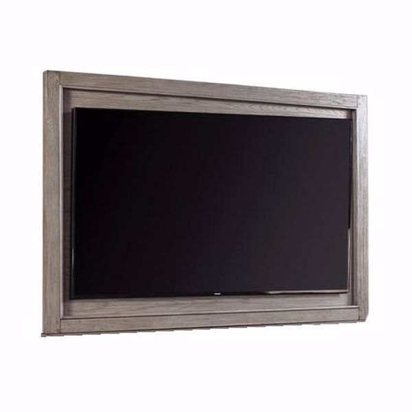 """Picture of Triston 75"""" TV Backer in Stone"""