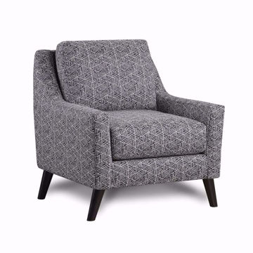Picture of Wellington Navy Accent Chair