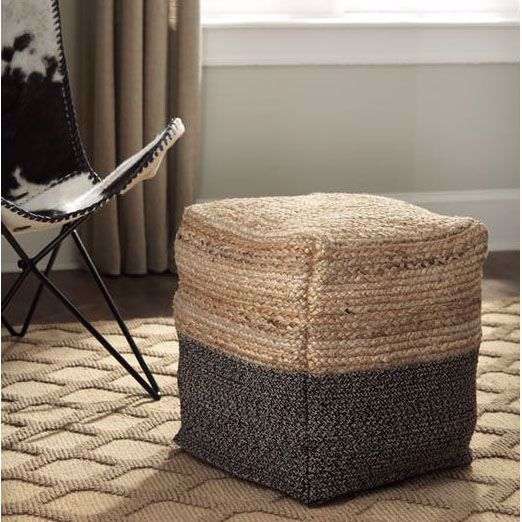Sweed Valley Pouf By Ashley Furniture Industries