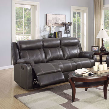 Picture of Derrick Recliner Sofa With Drop Down Table