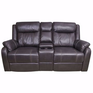 Picture of Derrick Reclining Loveseat With Console