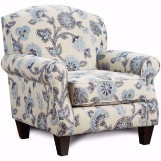 Picture of Iris Floral Accent Chair
