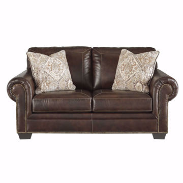 Picture of Griffin Leather Loveseat