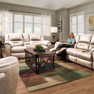 Picture of Graham Khaki Living Room Collection