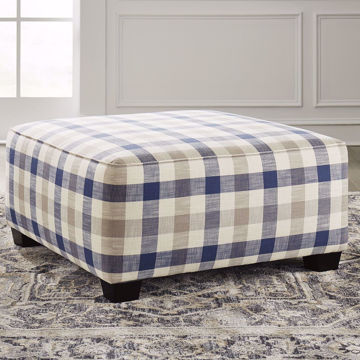 Picture of Dogwood Oversized Accent Ottoman