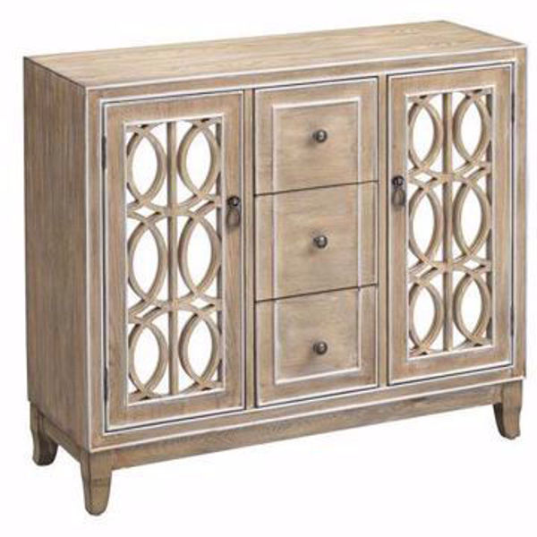 Picture of Gabriel Light Brown Two Door Three Drawer Credenza