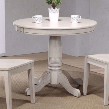 Picture of Carmel Round Gray Pedestal Table