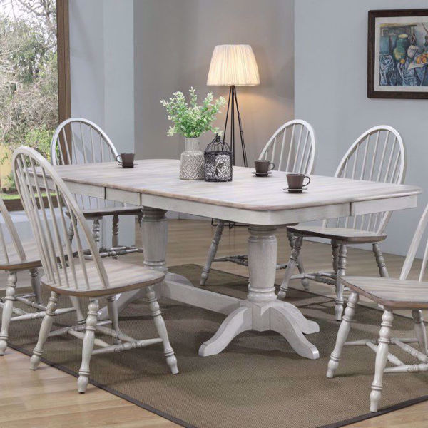 Picture of Ridgeway Gray Trestle Table