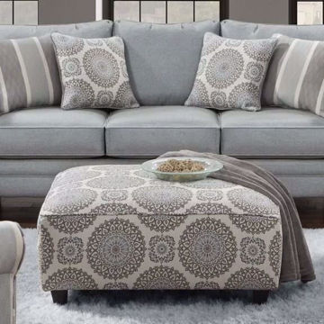 Picture of Charleston Brianne Twilight Ottoman