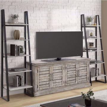 "Picture of Caroline 68"" Media Console with Etageres"
