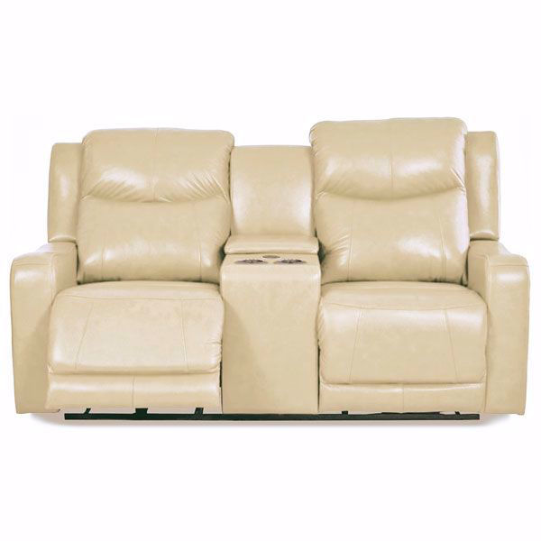 Picture of Saturn Power Headrest Console Loveseat