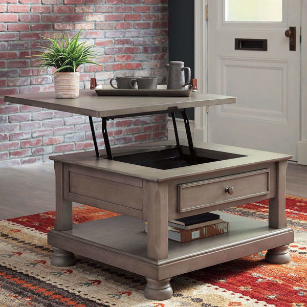 Picture of Kenley Gray Lift Top Coffee Table