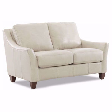Picture of Ella Ice Leather Loveseat