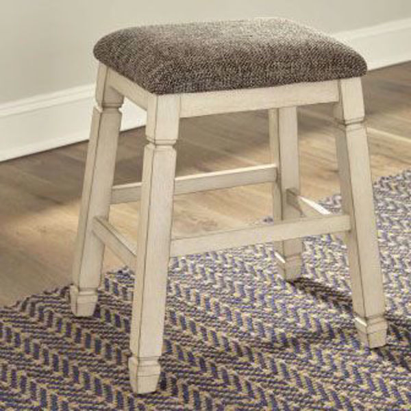 "Picture of Antiquity 24"" Backless Stool"