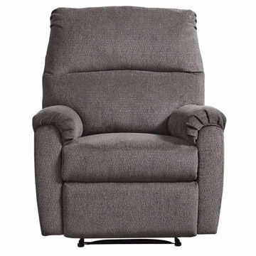 Picture of Navajo Gray Zero Wall Recliner
