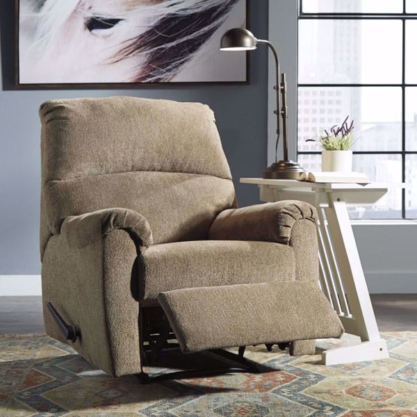 Picture of Navajo Mocha Zero Wall Recliner