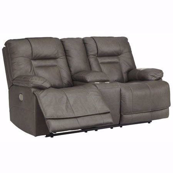 Picture of Truman Gray Power Loveseat