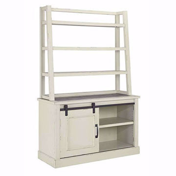 Picture of Fulton Cream Cabinet and Hutch