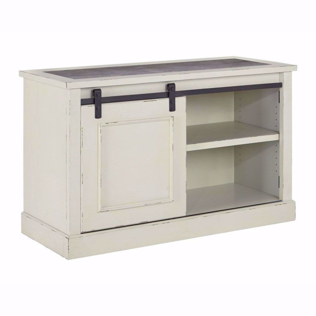 Picture of Fulton Cream Cabinet and Hutch