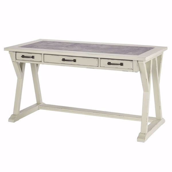 Picture of Fulton Cream Leg Desk