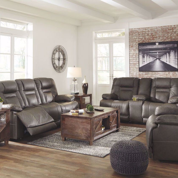 Picture of Truman Living Room Collection in Umber