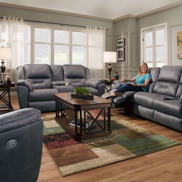 Picture of Graham Gray Living Room Collection