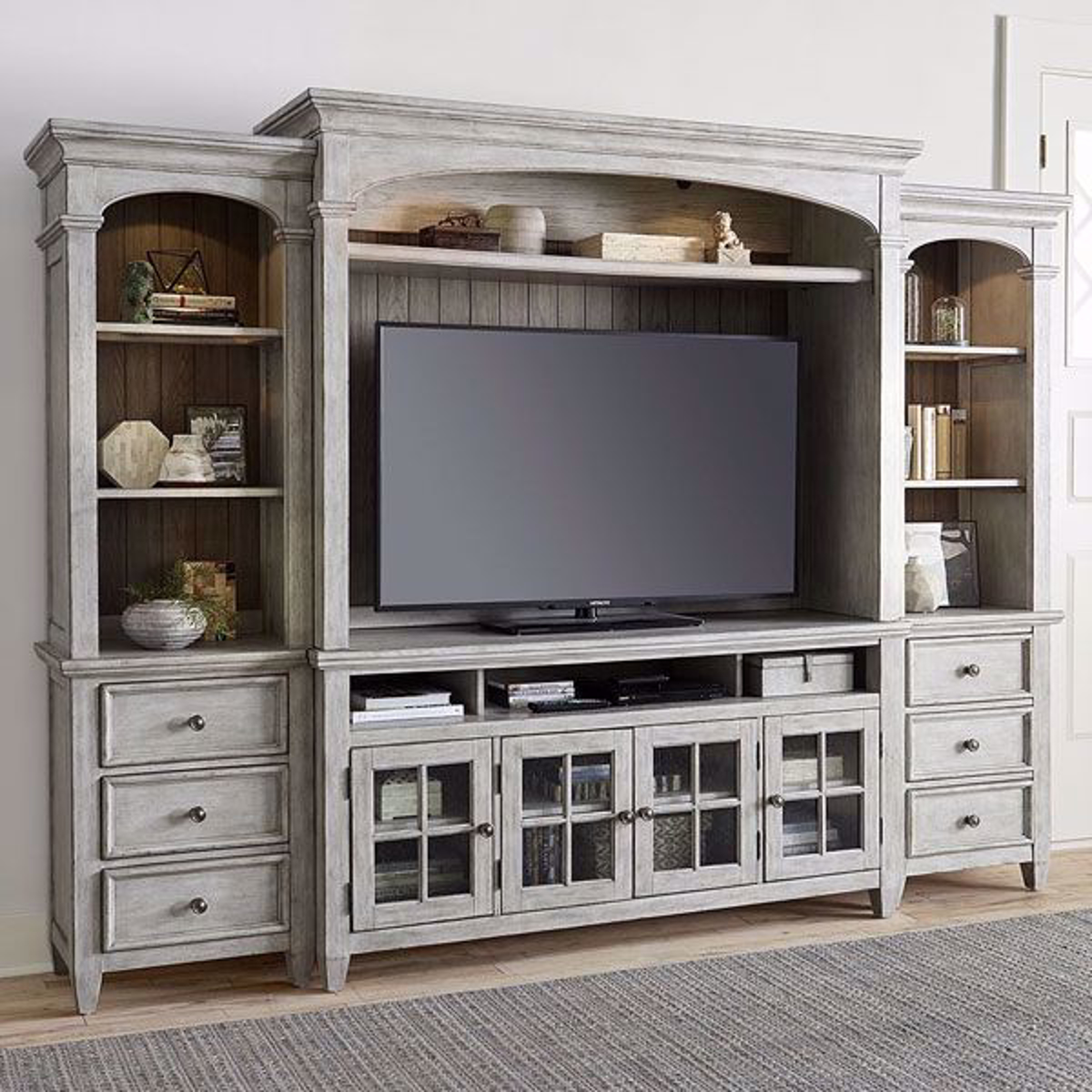Picture of Piazza 4 Piece Entertainment Wall