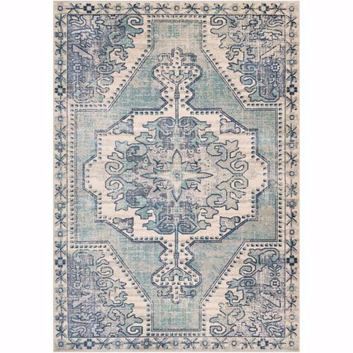 """Picture of Bohemian 2301 5'3""""X7'4"""" Area Rug"""