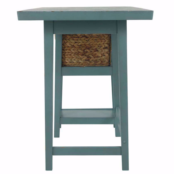 Picture of Myrtle Beach Blue Home Office Desk