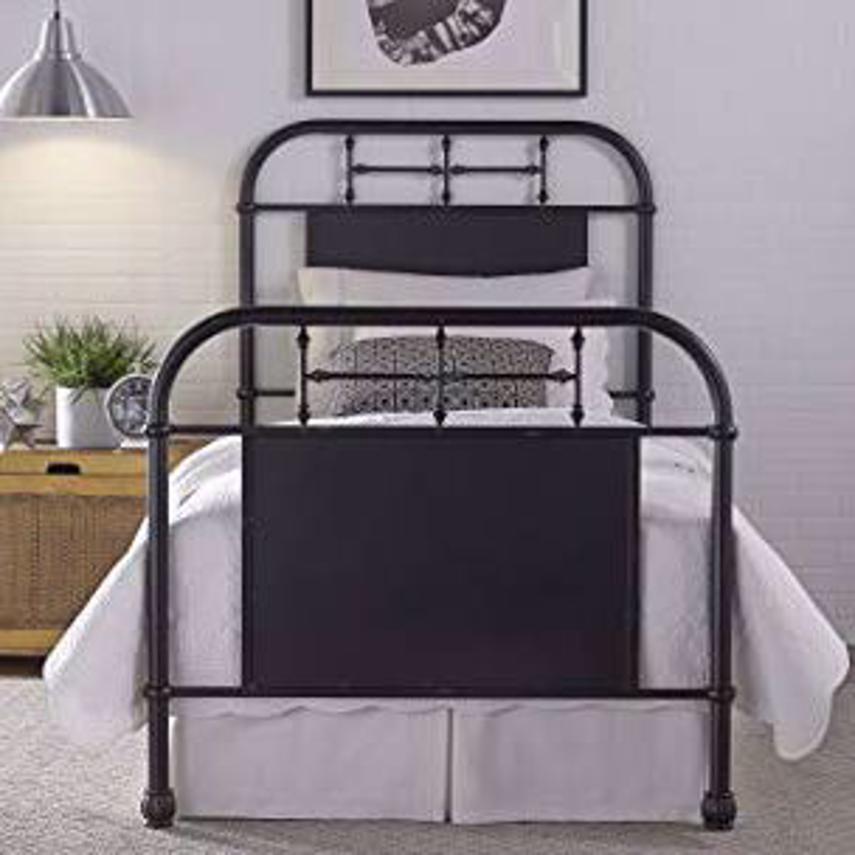 Picture of Fairhope Black Twin Bed