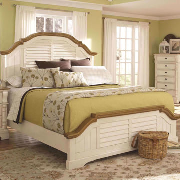 Picture of Gina King Panel Bed