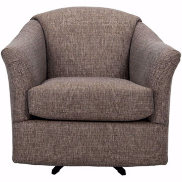Picture of Darby Swivel Barrel Chair