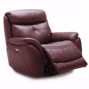 Picture of Raleigh Leather Cocoa Power Recliner