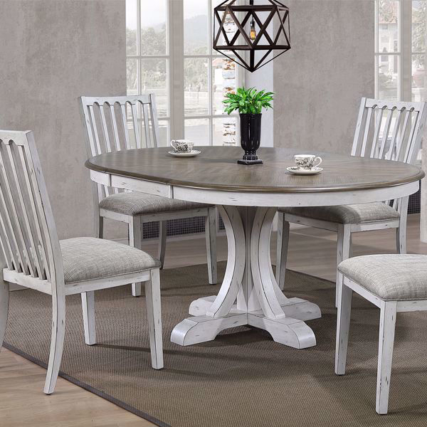 Picture of Highline Pedestal 5 Piece Dining Room Set