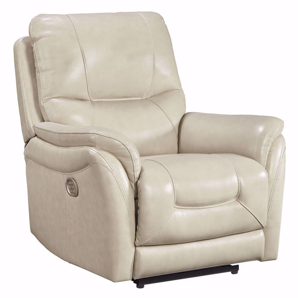 Picture of Stefan Power Leather Recliner