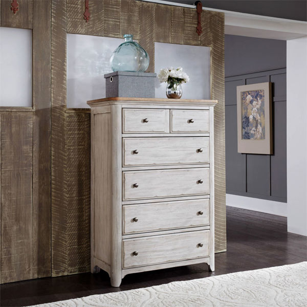 Picture of Roanoak 5 Drawer Chest