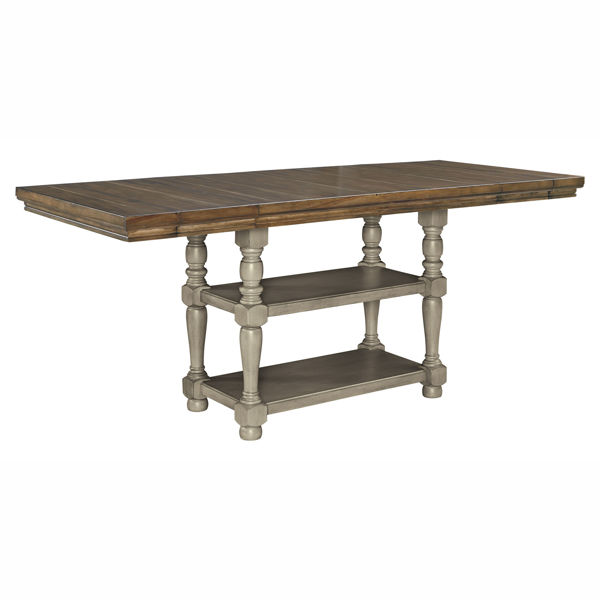 Picture of Kenley 2 Tone Counter Height Table