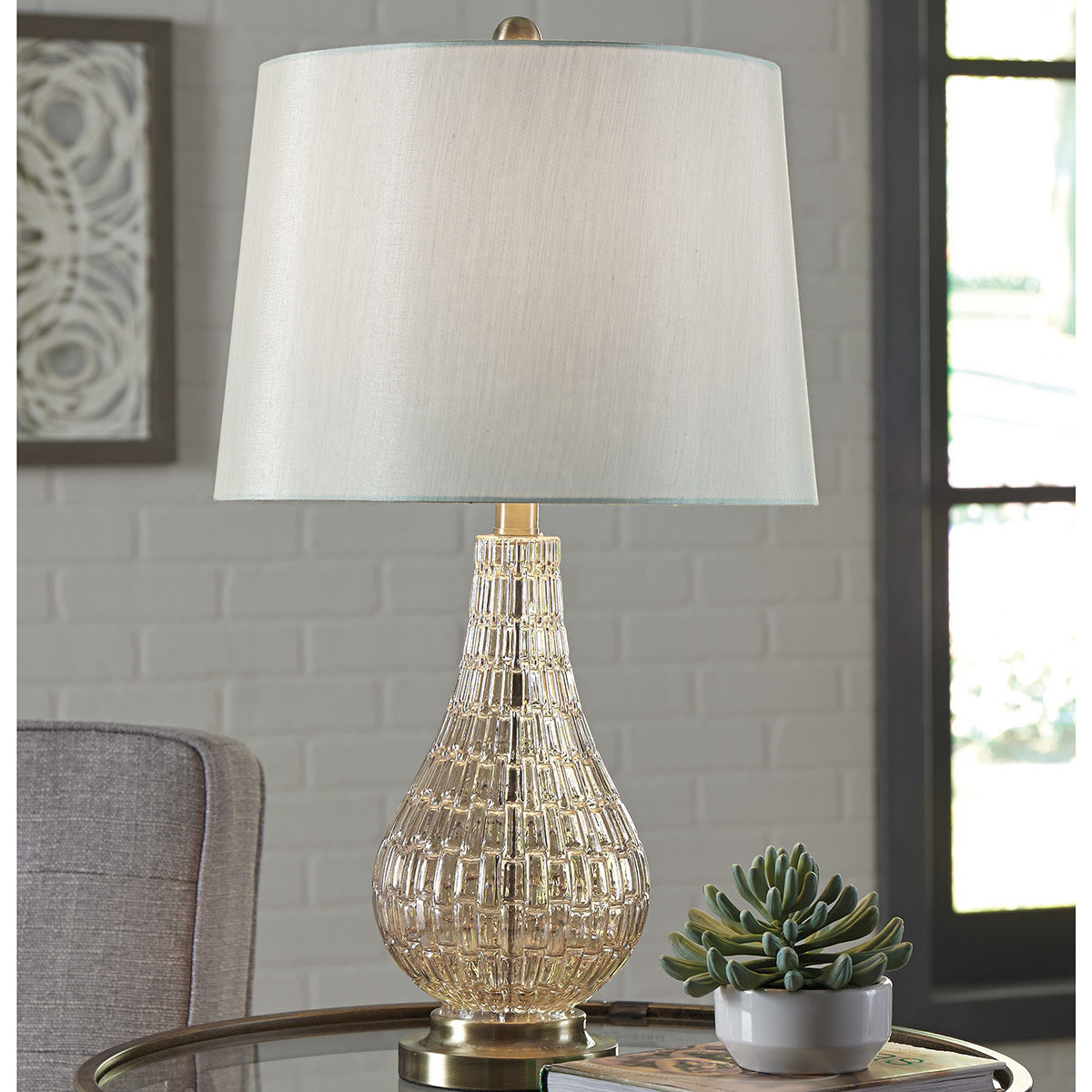 Picture of Latoya Champagne Glass Table Lamp