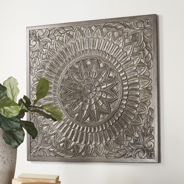 Picture of Briony Wood Carved Wall Decor