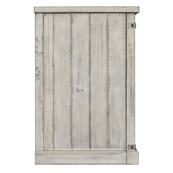 Picture of Waco Barn Door Large Media Console